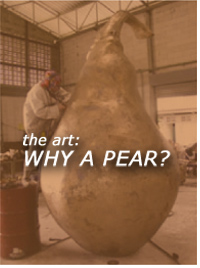 the art: WHY A PEAR?